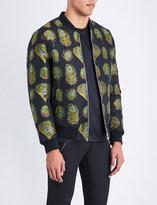 Alexander McQueen Peacock jacquard jacket