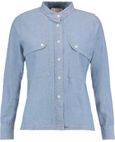 Sea Cotton-Chambray Shirt