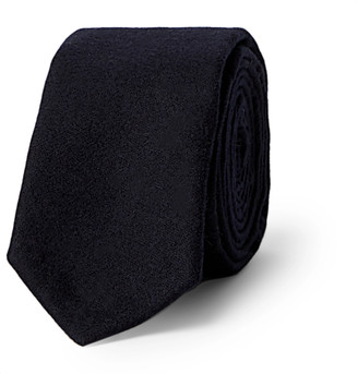Thom Browne 5cm Striped Wool And Cashmere-Blend Flannel Tie