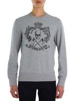 Alexander McQueen Skull Crest Sweatshirt
