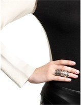 Pamela Love Silver Double Cage Ring