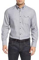 Nordstrom Men's Regular Fit Herringbone Sport Shirt