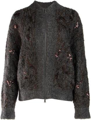 Brunello Cucinelli Zipped Cardigan