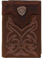 Ariat Men's Boot Embroidery Tri-Fold Tan