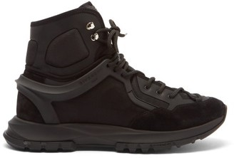 Givenchy Spectre High-top Mesh Trainers - Black