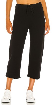 Frank And Eileen Cropped Wide Leg Sweatpant