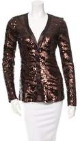 Rachel Zoe Long Sleeve Sequin Top w/ Tags