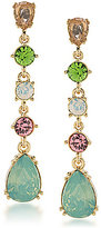 Carolee Cosmopolitan Club Linear Drop Earrings