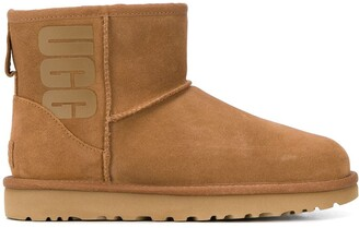 UGG classic mini ankle boots