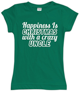 Urban Smalls Kelly Green 'Christmas Crazy Uncle' Fitted Tee - Toddler & Girls