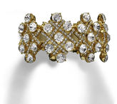 Natasha Accessories Natasha Rhinestone Stretch Bracelet