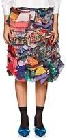 Comme des Garcons Women's Ruffle Chiffon Skirt