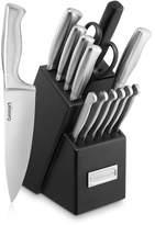 Cuisinart 15 Piece Stainless Steel Hollow Handle Knife Block Set