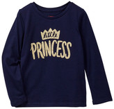 Joe Fresh Graphic Long Sleeve Tee (Toddler & Little Girls)