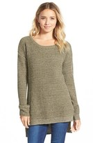 BP Junior Women's Textured Knit Pullover