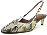 Cole Haan Juliana Low Sling 45 Women US 5 Ivory Slingback Heel