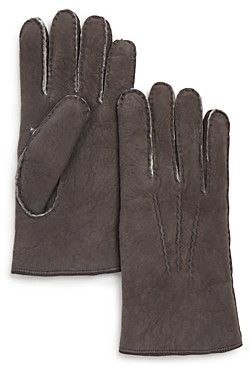 The Men's Store at Bloomingdale's Shearling Gloves