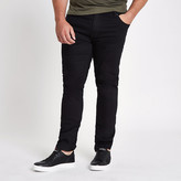 River Island Big and Tall black Dylan slim fit jeans