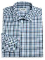 Eton Checked Dress Shirt