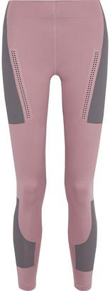 adidas by Stella McCartney Fitsense+ Perforated Printed Stretch Leggings
