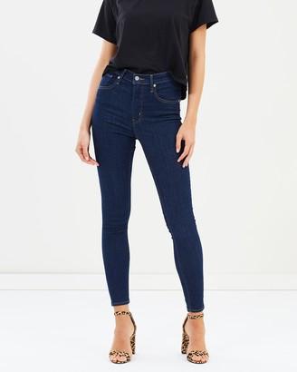 Levi's Mile High Super Skinny Jeans