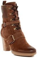 Manas Design Mid Shaft Genuine Sheepskin Lined Boot