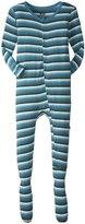 Kickee Pants Print Footie (Toddler) - Boy Forest Stripe - 4T