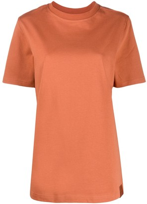Reebok x Victoria Beckham crew neck logo printed T-shirt