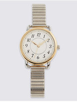 M&S Collection Round Face Expandable Watch