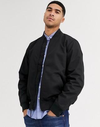Levi's lyon bomber jacket-Black