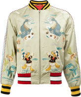 Gucci Donald Duck bomber jacket - men - Silk/Viscose - 48