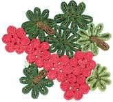 Seletti Geranium Florigraphie Straw Trivet