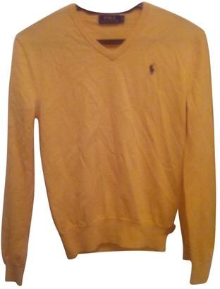 Polo Ralph Lauren Yellow Wool Knitwear
