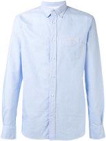 Officine Generale plain shirt - men - Cotton - S