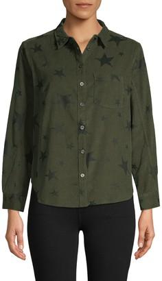 Jak & Rae Jak&Rae Star-Print Cotton Shirt