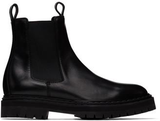 Officine Creative Black Pistols 3 Chelsea Boots