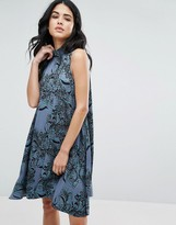 Vero Moda Swing Dress In Paisley Print