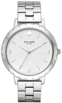 Kate Spade Metro Scallop Three-Hand Stainless Steel Bracelet Watch