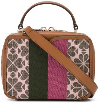 Kate Spade Colour Block Patterned Satchel Bag