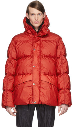 MONCLER GENIUS SSENSE Exclusive 6 Moncler 1017 ALYX 9SM Red Eris Giubbutto Down Jacket