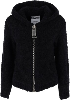 Moschino Macro Zip Hooded Jacket