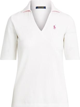 Ralph Lauren Elbow-Length-Sleeve Golf Polo