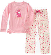 Juicy Couture Pink Dog Pajama Set - Girls