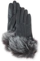 UGG Classic Heritage Toscana Gloves, Black