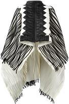 Aviu ribbed zipped poncho - women - Polyamide/Virgin Wool/Goose Down - 40