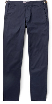 Orlebar Brown Campbell X Stretch Supima Cotton-Twill Trousers - Men - Blue