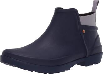 Bogs Women's Flora Bootie Low Height Waterproof Slip on Rain Boot