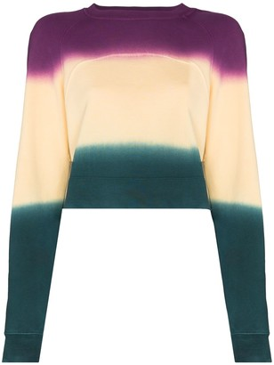 Eckhaus Latta Colour-Block Panelled Sweatshirt