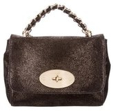 Mulberry Metallic-Accented Cecily Bag