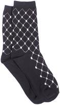 Jessica Women's Diamond Printed Socks